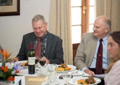 Eddy Neilson FICS and Bob King FICS sharing a joke