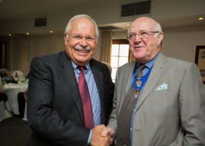 Mr Trevor Rayson FICS and Mr Bruce Ogilvy FICS
