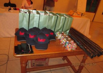 Prizes, thank you to our sponsors