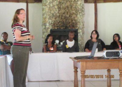 Susan Oatway giving the Exam Techniques Talk (2)