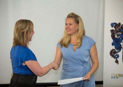 Theresa Ferreira MOL, collecting on behalf of Suzanne Basserman MOL with Natasha Vaughan FICS